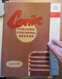 An issue of the Dougherty's Comic Magazine Publishing Report