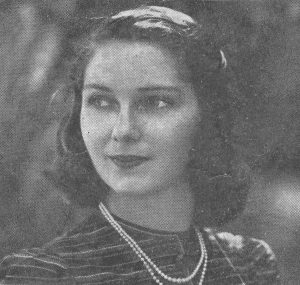 Jane Krom Grammer, early 1940s. Image courtesy of her daughter Barrie Schindler.