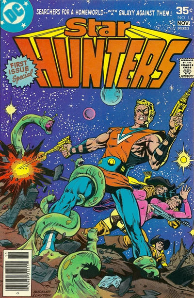 Cover of Star Hunters #1 from DC Comics.